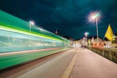 light night tracks Στοκ εικόνα με δικαίωμα ελεύθερης χρήσης