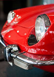 Light of an old sport car. Light of an old red sport car Royalty Free Stock Photos