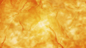 Light orange high detailed abstract crumpled paper for background or wallpaper Stock Photos