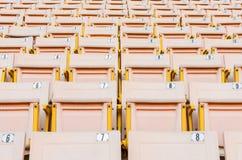 Light Orange Seat. Royalty Free Stock Images