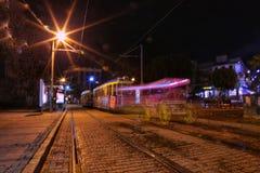 Light paint citylight Stock Images