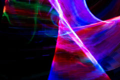Light painting abstract background. royalty free illustration