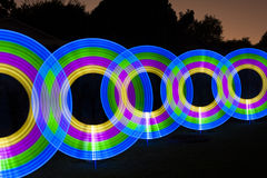 Light Painting Abstract Royalty Free Stock Photos