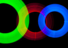 Light Painting Abstract Royalty Free Stock Photography