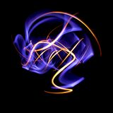 Light painting Royalty Free Stock Photos