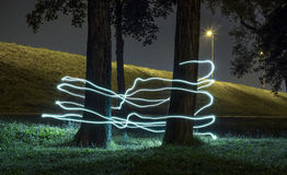 Light painting Stock Photography