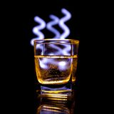 Light painting Royalty Free Stock Image