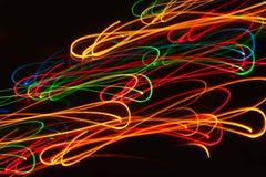 Light Painting Lines Stock Photos
