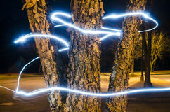 Light painting Royalty Free Stock Photography