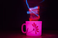 Light painting. Royalty Free Stock Images