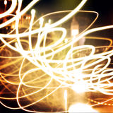 Light Painting Photography. Royalty Free Stock Photos