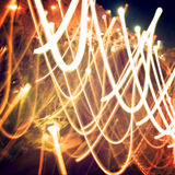 Light Painting Photography. Stock Images