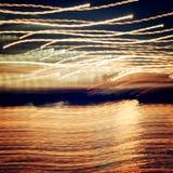Light Painting Photography. Freezelight photo. stock illustration