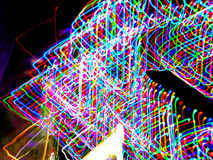 Free Light Painting With Many Colorful Bulbs Royalty Free Stock Photography - 78851497