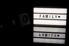 Light box Stock Image