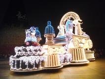 Light parade Royalty Free Stock Photo