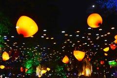 led light park Royalty Free Stock Image