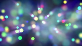 Light particles bokeh loop moving stock illustration