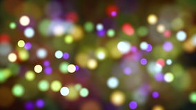 Light particles bokeh loop moving stock video footage