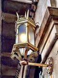 Light on Passeig de Gracia street. Stock Image