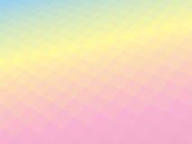 Light pastel geometric tilt background Stock Image