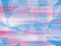 Pastel pink blue Abstract background. Light pastel pink blue speed lines geometry objects abstract background stock illustration