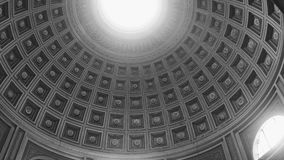 Light Path. Dome, light, grey, square Royalty Free Stock Image