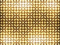 Light pattern background. Of gold Stock Image