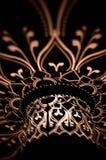 Light patterns on dark. Stock Photo