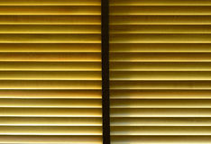 The light penetrate wooden curtain for background Royalty Free Stock Photo