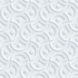 Light perforated paper. Royalty Free Stock Photos