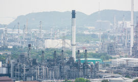 Light of petrochemical industry power station Royalty Free Stock Photography