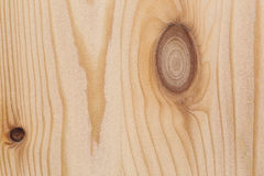 Light Pine Wood board with Knots Texture Surface Stock Photo