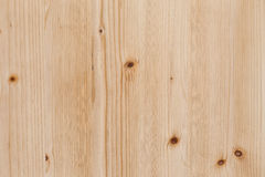 Light Pine Wood board with Knots Texture Surface Stock Photography