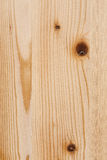 Light Pine Wood board with Knots Texture Surface Royalty Free Stock Images