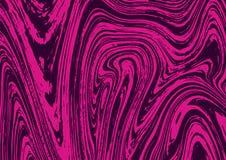 Light pink background with dark liquid paint splatter. Beautiful Marble texture pattern surface. Vector illustration Stock Image