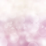 Light pink  festive  background with light Royalty Free Stock Images