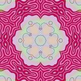 Light pink flower background. Line lines design art work plant royalty free illustration