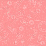 Light pink pattern Royalty Free Stock Photography