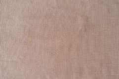 Light pink polyester fabric from above Royalty Free Stock Photo