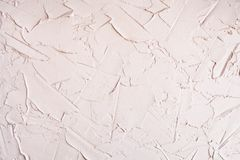 Light pink putty wall texture empty background for template royalty free stock photo