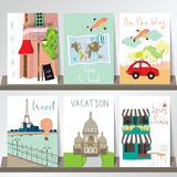 Light pink red collection for banners, Flyers, Placards and Post Stock Photo
