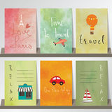 Light pink red collection for banners, Flyers, Placards Stock Photos