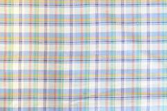 Light plaid cloth Stock Photography