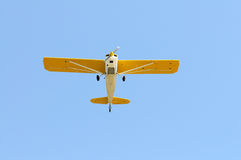 Light plane stock photo