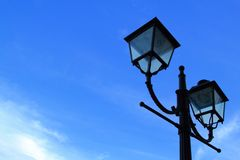 Light pole. With clear sky Royalty Free Stock Photography