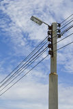 Light pole. Royalty Free Stock Images