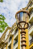 Light pole in the city. Light pole in the modern city Stock Images