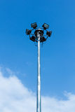 Light pole Royalty Free Stock Image