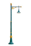 Light pole isolated Royalty Free Stock Images